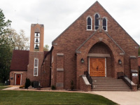 Immanuel Lutheran Church – Waterloo, IL (Jeld-Wen Oak Door)