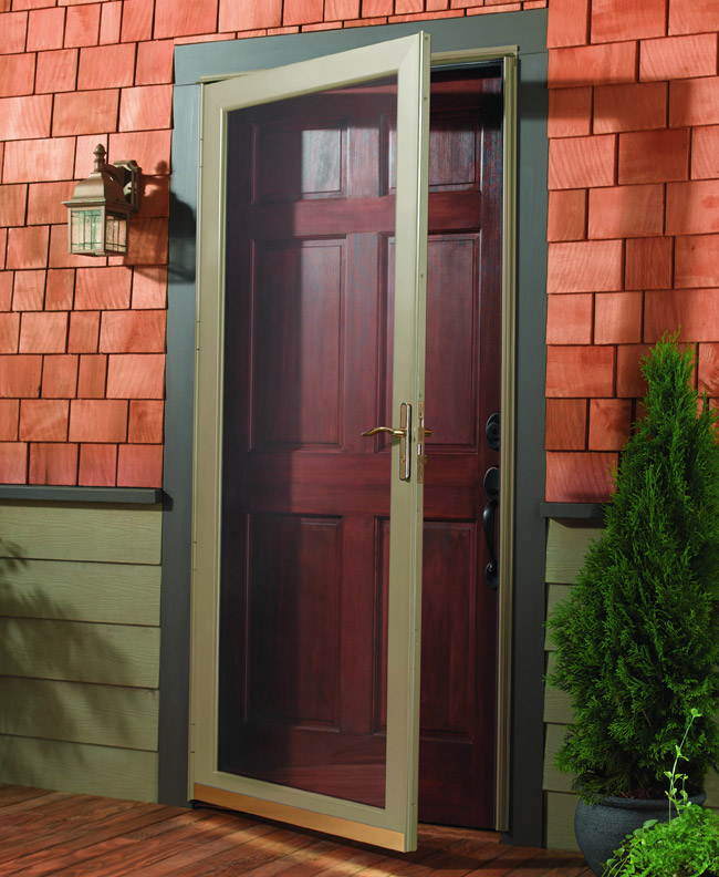 Glass Storm Doors : St louis storm doors by andersen falcon larson
