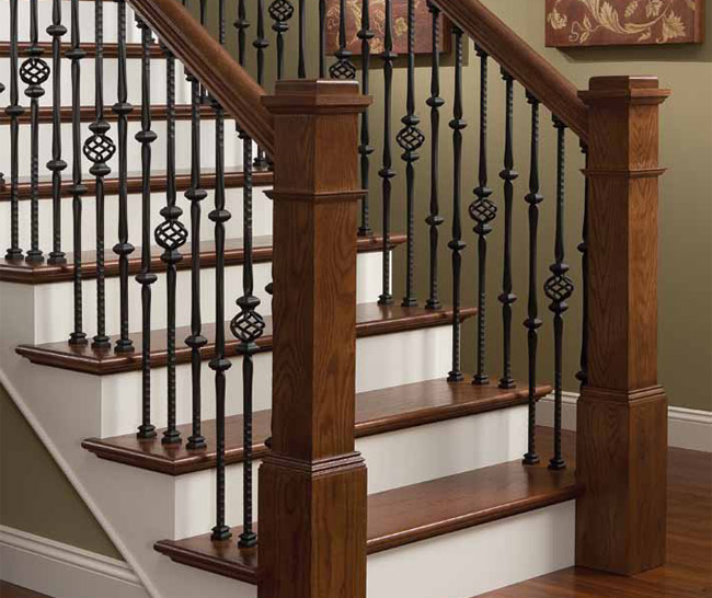 St louis staircases stair railings from wilke window