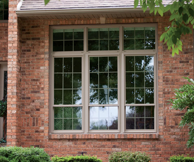 St louis vinyl replacement windows by wilke window for Picture window replacement